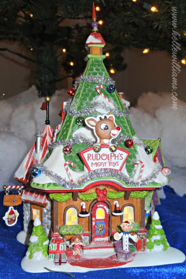 Rudolph Christmas Village.Rudolph The Red Nosed Reindeer Aren T We Lucky